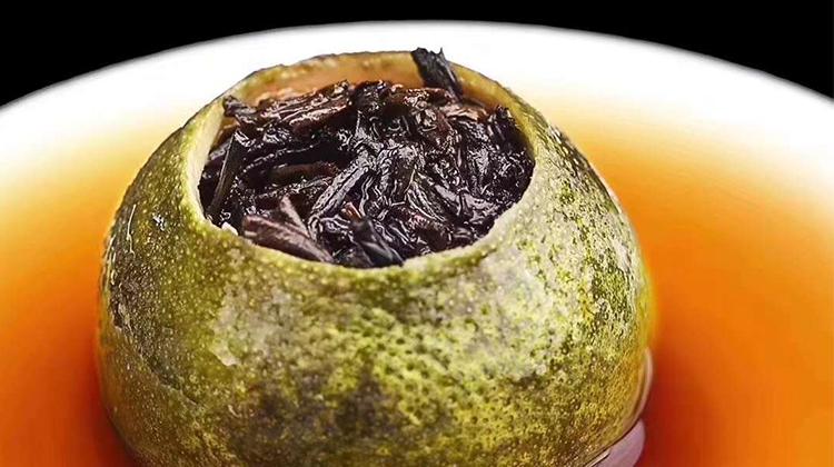 小青柑普洱茶,好茶喝出健康来!